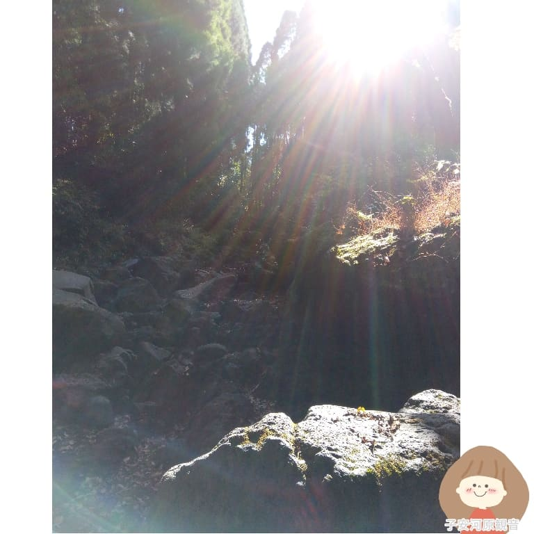 子安河原観音で撮れた写真